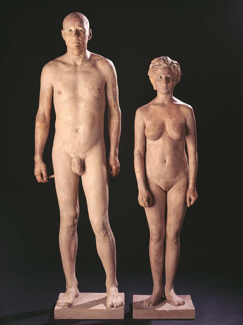 Hombre y mujer, Antonio López, 1968-1994