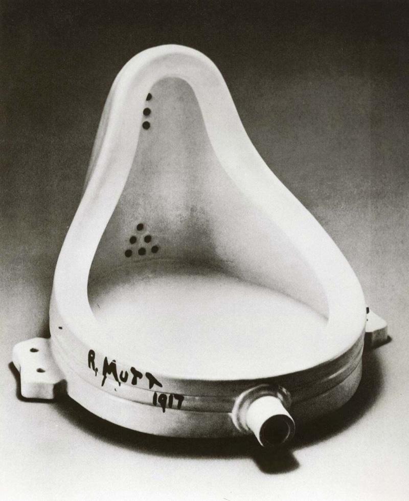 Fuente Duchamp, 1917