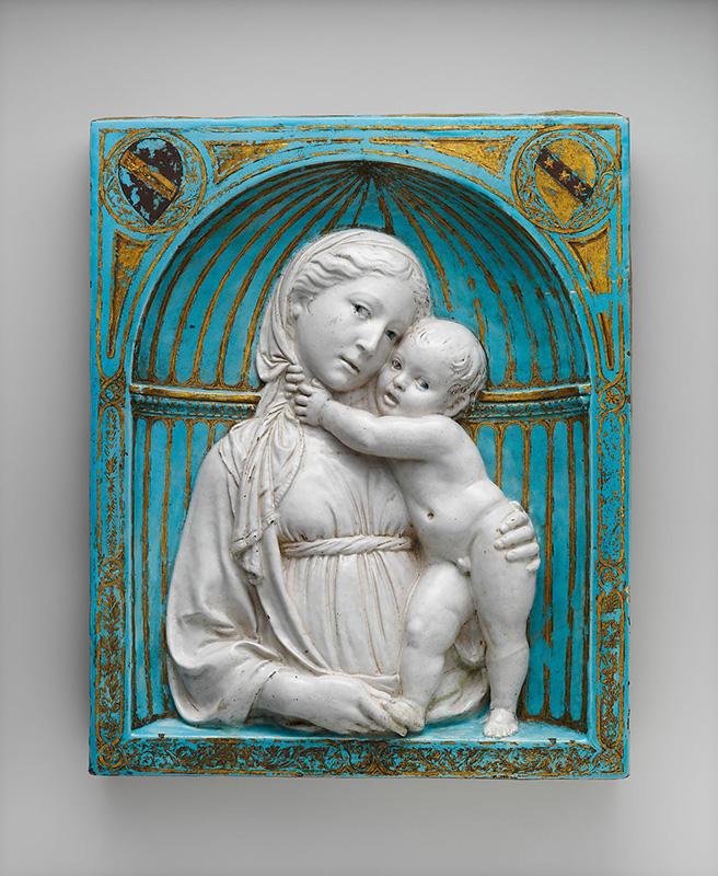 Virgen con el Niño, Luca della Robbia, 1460