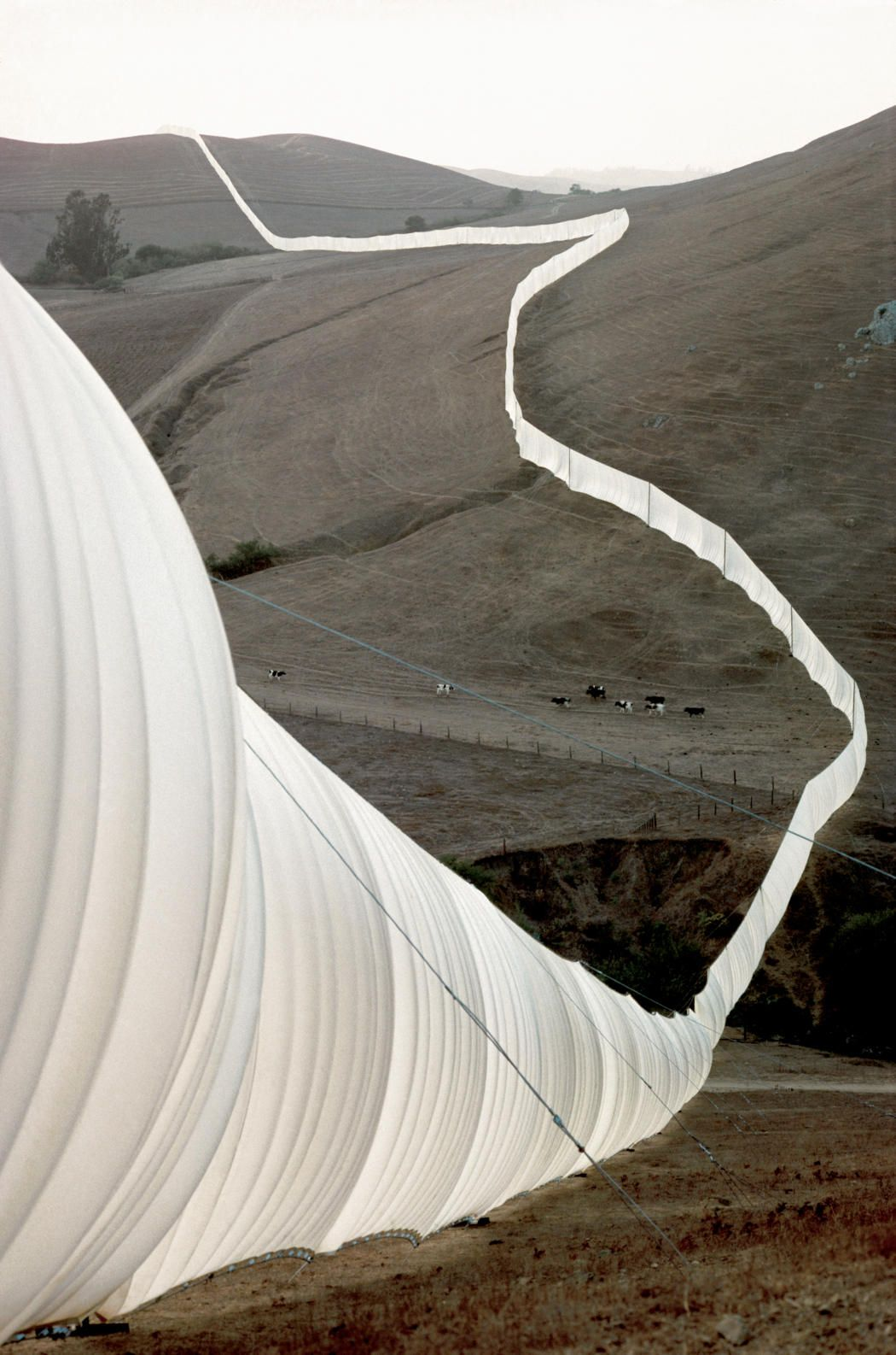 Running Fence, Project for Sonoma and Marin Counties, Christo