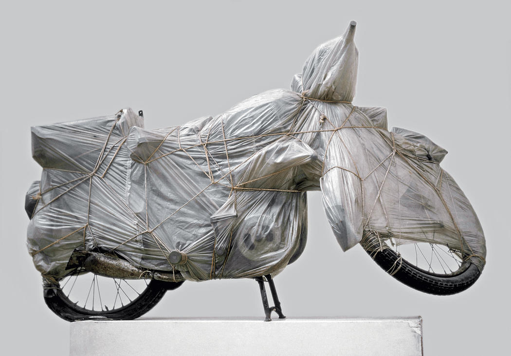 Wrapped Motorcycle, Christo