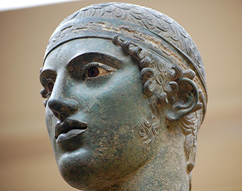 Auriga de Delfos, Pitágoras de Regio, 474 aC
