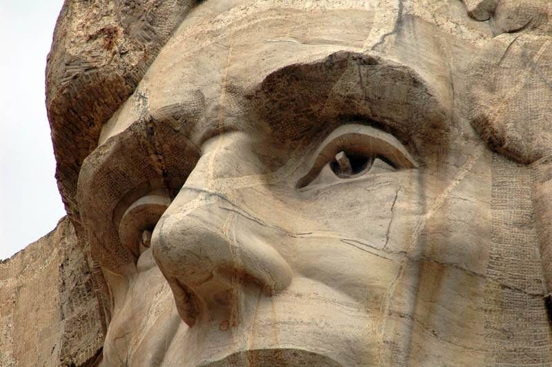 Gutzon de la Mothe Borglum, Mount Rushmore National Memorial, 1927 -1941