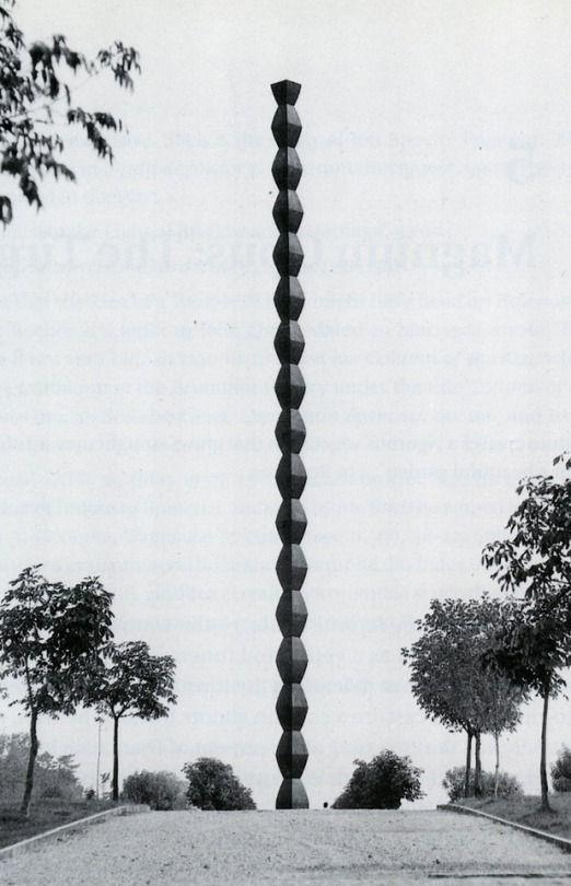 Brâncuși, The Endless Column