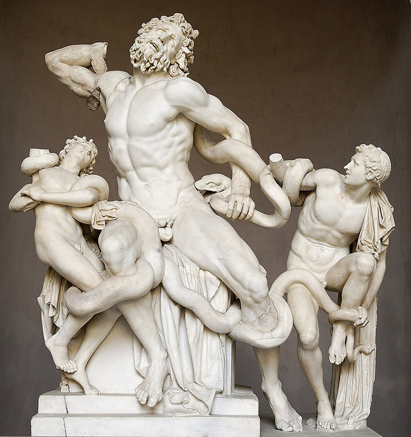 Laocoonte, Agesandro, Polidoro y Atenodoro